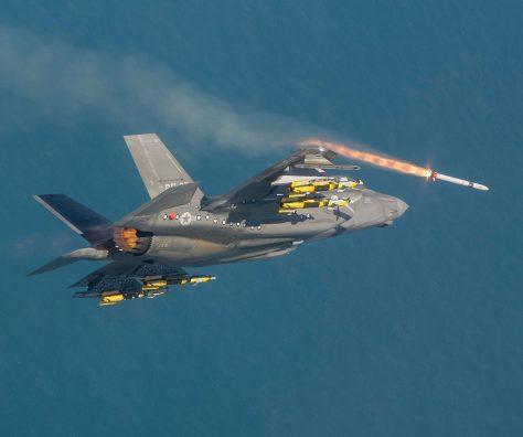 F-35B ASRAAM Live Fire (LM)