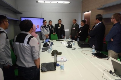 Kemhan Tinjau Program Joint Production Mission System PTTA Kelas MALE di IDS Italia 4