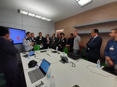 Kemhan Tinjau Program Joint Production Mission System PTTA Kelas MALE di IDS Italia 5