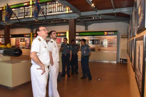 Koarmada II Terima Kunjungan Delegasi Angkatan Laut Jerman 1