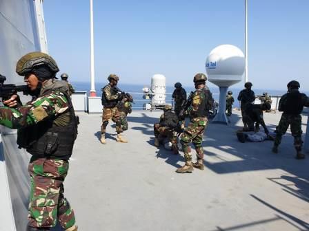 Kopaska TNI AL dan SSG Pakistan Navy Gelar Latihan Bersama Sea Thunder 2019