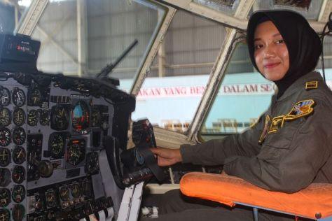 Letda Pnb Anisa Amalia Octavia (25). (Kompas)