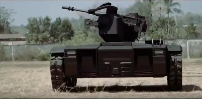 Seminar Sistem Persenjataan Sentry Gun Pada UGCV