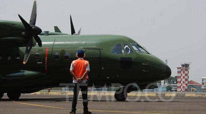 PTDI Kirim Satu Pesawat CN235-200 Military Transport Pesanan Nepalese Army