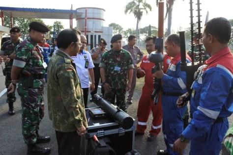 PT Pertamina (Persero) RU VI Balongan berinisiatif melindungi kilang minyak dan gas bumi dari ancaman serangan drone dengan menggandeng Kementerian Pertahanan. (Istimewa)