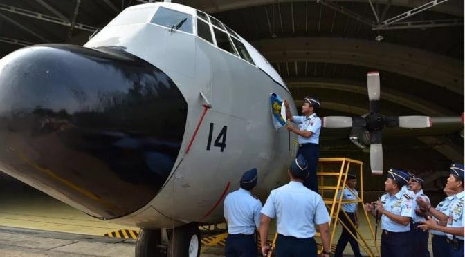 Realokasi Dua C-130 Hercules A-1314 dan A-1341 dari Skadron Udara 17 ke Skadron Udara 31