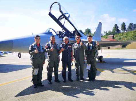 RMAF delegation with the FA-50 (MFH)