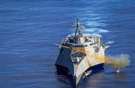 USS Gabrielle Giffords first LCS to perform integrated NSM firing (Naval Today)