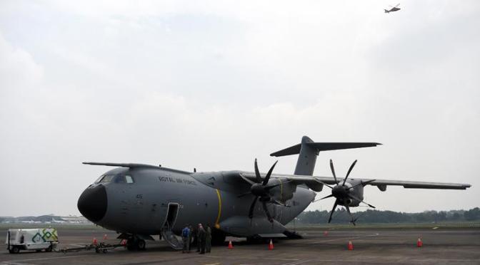 A400M Bisa Mengisi Bahan Bakar di Udara