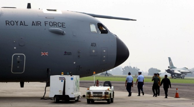 Pesawat A400M Angkatan Udara Inggris Akan Unjuk Kecanggihan di Indonesia