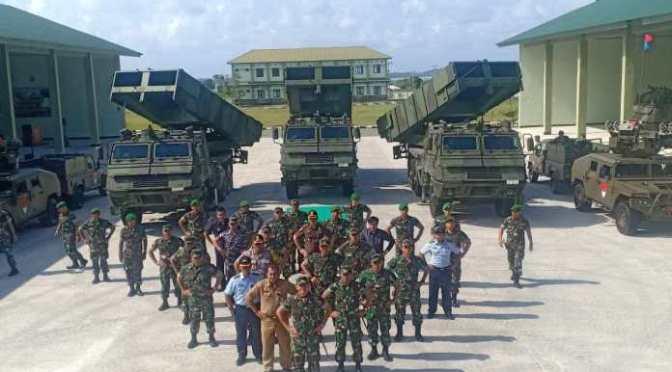Batalion Komposit 1/Gardapati Diperkuat dengan 14 Unit Roket Astros II MK 6