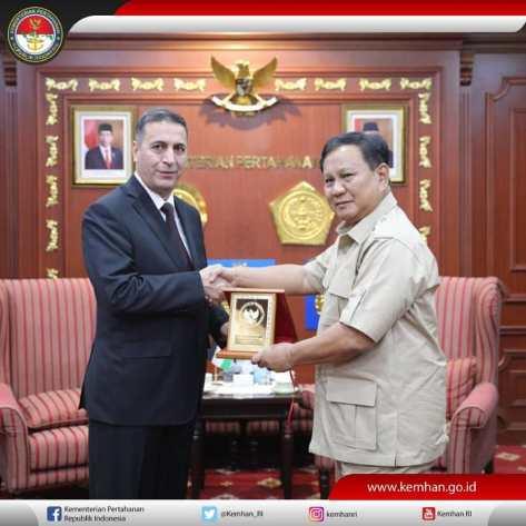Dubes Jordan untuk Indonesia, H.E. Mr. Abdallah Suliman Abu Rohman, (0411)
