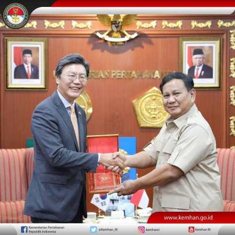 Dubes Korea untuk Indonesia, H.E Mr. Kim Changbeon, (0411)