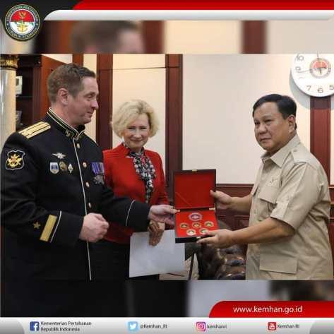 Duta Besar Rusia untuk Indonesia, H.E. Mrs. Lyudmila Georgievna Vorobieva, (0411)