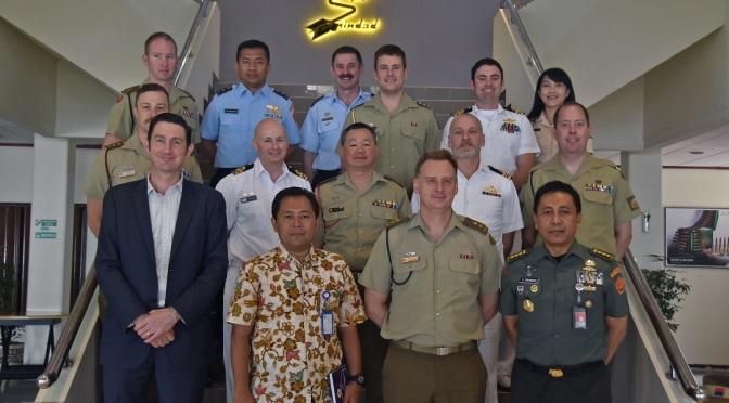 Kunjungan Delegasi Militer Australia Pelajari Teknologi Produksi PT Pindad