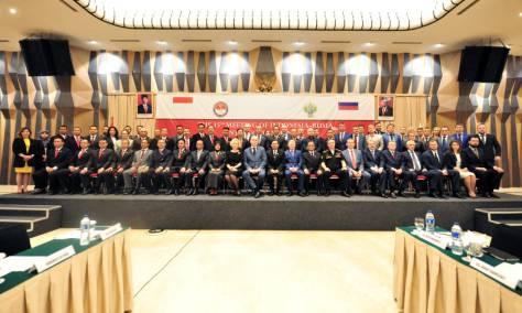 Meeting Indonesian-Russian