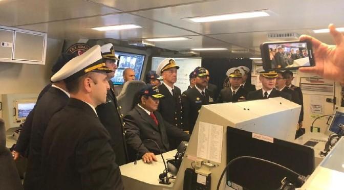 Prabowo Subianto Bertemu dengan Menhan Turki dan Tengok Kapal Selam