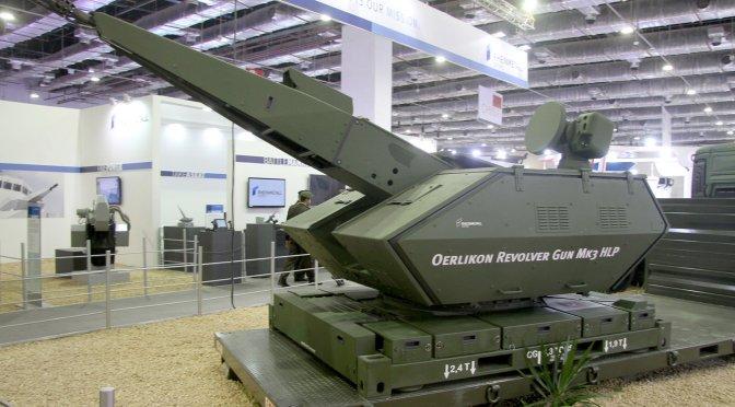 """""""Pelanggan Internasional"""" Pesan Sistem Pertahanan Udara Rheinmetall"""