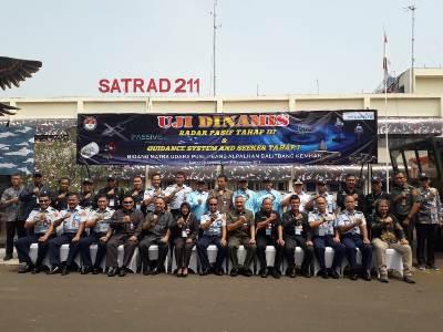 Uji Dinamis Radar Pasif serta Guidance System dan Seeker di Satuan Radar 211 Tanjung Kait