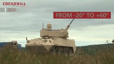CMI Defence Cockerill 3030 CRADA (Military Leak) 3