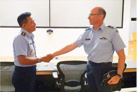 Kasau Hadiri Acara Pacific Air Chief Conference Symposium 2019