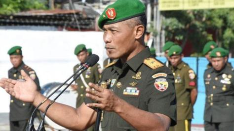 Komandan Korem (Danrem) 161 Wirasakti Kupang Brigjen TNI Syaiful Rahman (Tribunnews)