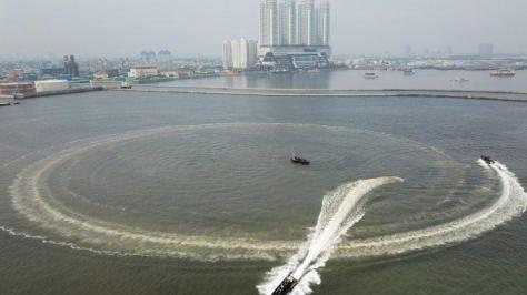 Korps Marinir Uji Fungsi Empat Sea Reader Rigid Bouyancy Boat (RBB) Merk Ye Boat 2