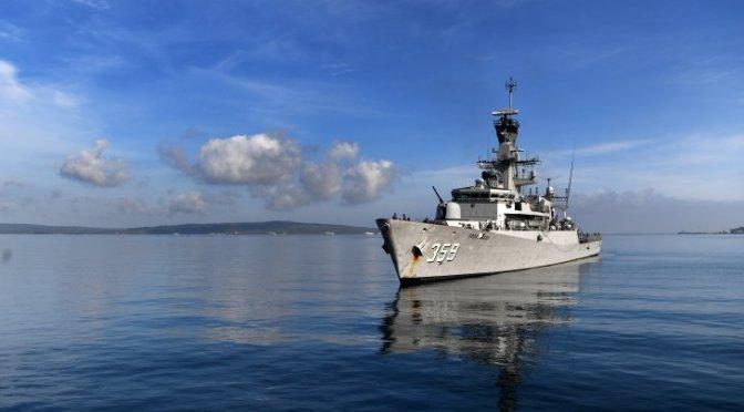 Dua Kapal Perang Indonesia Berangkat ke Timor Leste