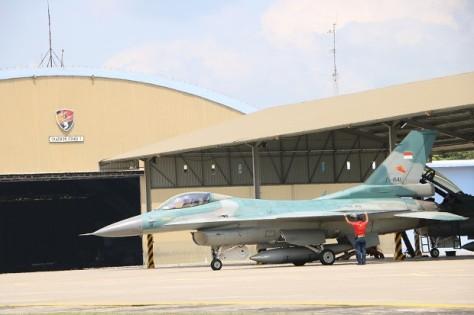 Lanud Iswahjudi Akhiri Misi Terbang Hari Ini (F-16 TNI AU) 1