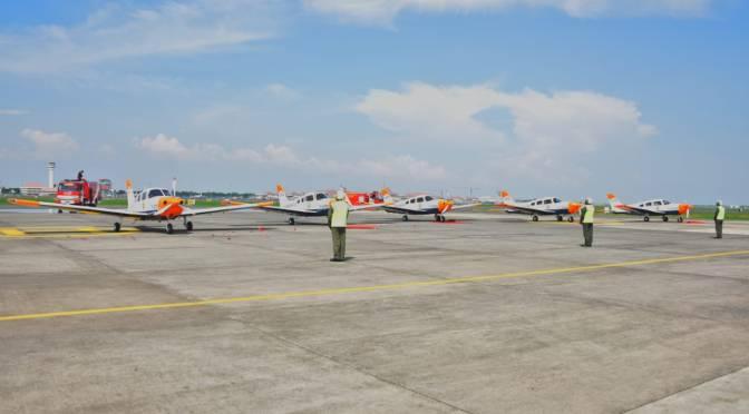 Lima Unit Pesawat Latih Piper Archer Dx PA-28-181 Hadir di Jajaran Puspenerbal
