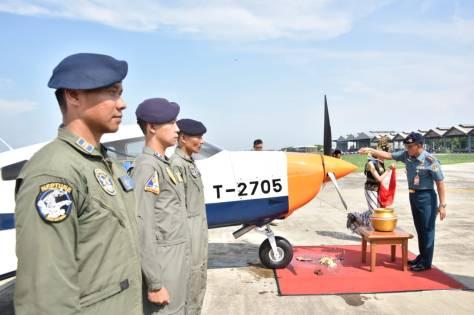 Lima Unit Pesawat Latih Piper Archer Dx PA-28-181 Hadir di Jajaran Puspenerbal 2