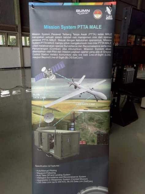 Misssion system UAV Elang Hitam (Angkasa Review)