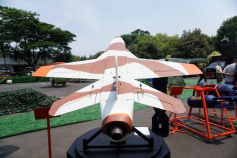 Pameran Alutsista di Halaman Kementerian Pertahanan, Jakarta, Selasa (03122019). (Kumparan) 4