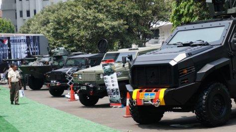 Pameran Alutsista di Halaman Kementerian Pertahanan, Jakarta, Selasa (03122019). (Kumparan) 8