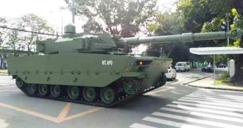 Pindad Harimau tank (MaxDefense)