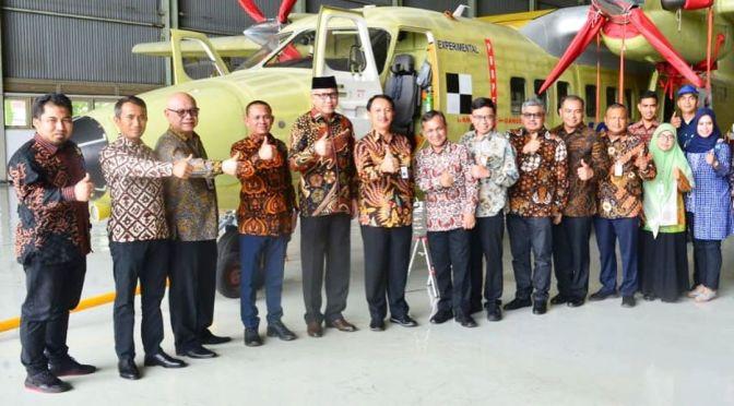 PTDI dan Pemerintah Aceh Menandatangani MOU Pengadaan N219