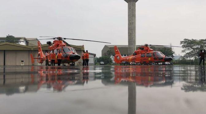 PTDI Serahkan Helikopter AS365 N3+ Dauphin ke Basarnas