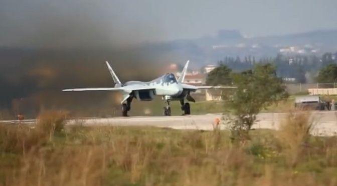 Jet Tempur Su-57 Rusia Jatuh