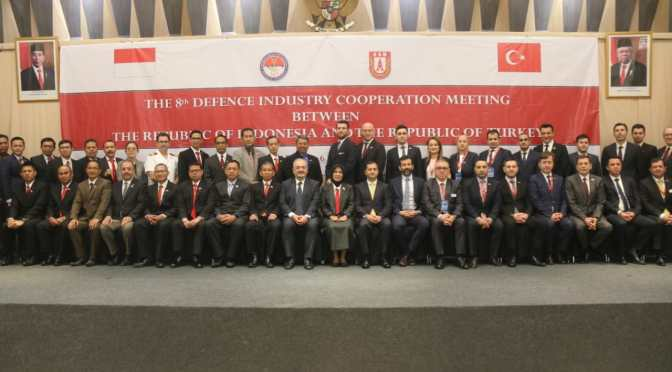 The 8th Defence Industry Cooperation Meeting Between RI – Turki