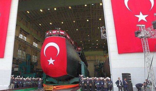 Turki Luncurkan Kapal Selam dengan Teknologi AIP Pertama