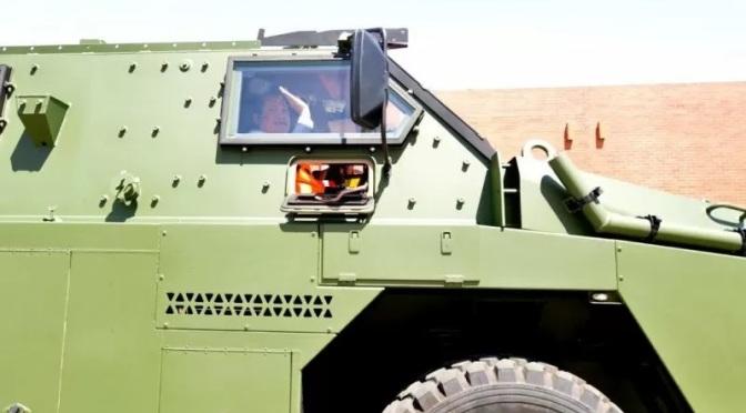 Wamenhan Jajal Bushmaster Saat Kunjungi Thales Australia