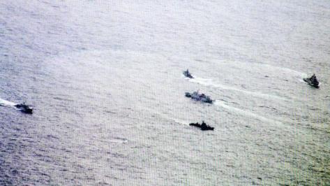 Aksi KRI Hadang Kapal Cina di Laut Natuna 2