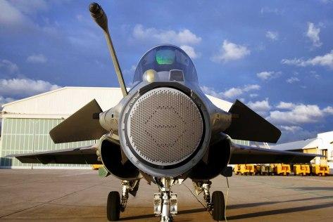 Dassault Rafale Thales RBE2 AESA radar (Defpost)
