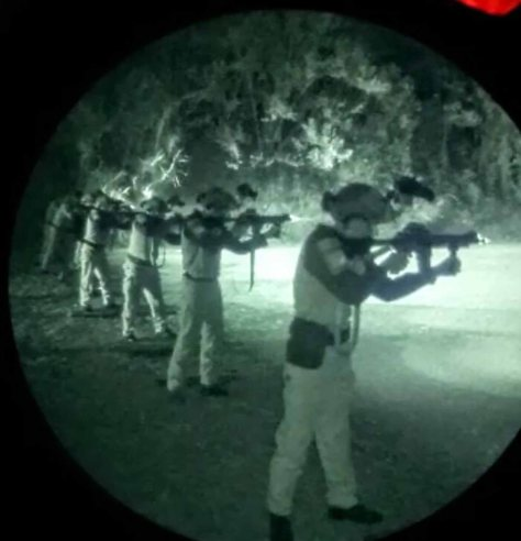 Denmatra 2 Paskhas Latihan Menembak dengan Thermal Weapon Sight, NVG & IR Laser 1