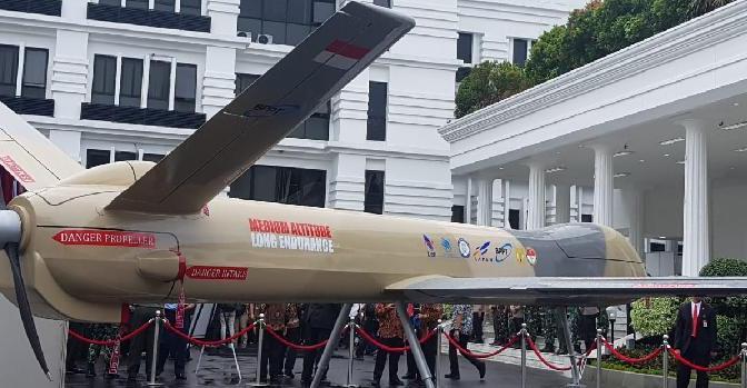 Ikut Bangun Drone Tempur Elang Hitam, LAPAN Siapkan Rp 300 M