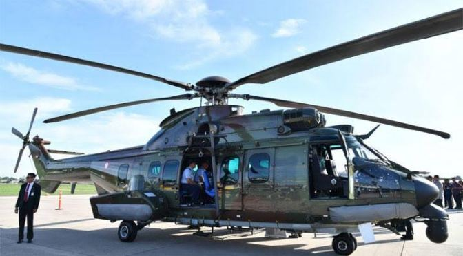 Caracal, Helikopter Cadangan Presiden