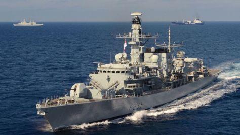 HMS Montrose F236 (Istimewa)