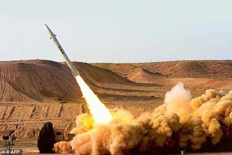 Iran gunakan misil Al-Fatteh