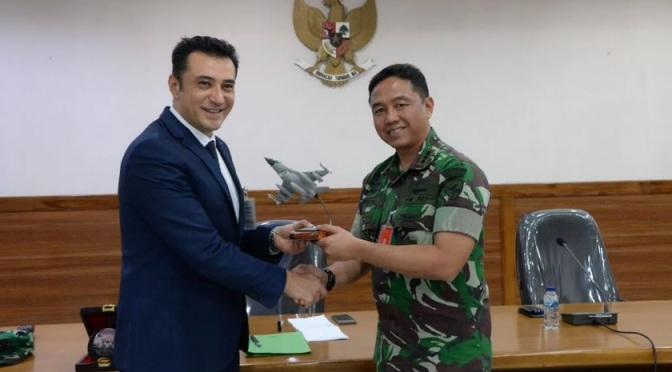 Jajaki Peluang Kerjasama AssessmentF-16, Turkish Defence Industries Kunjungi Lanud Iswahjudi