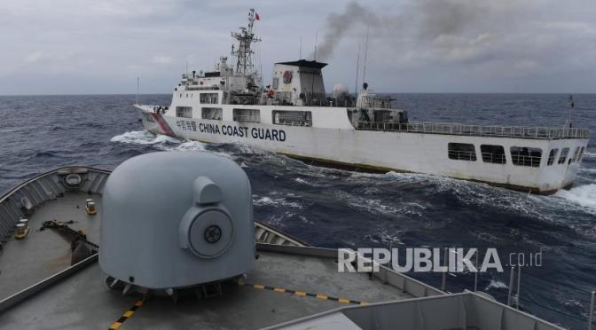 Kapal Coast Guard China Kembali Ke Natuna (Photo)